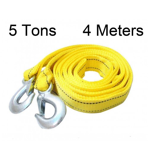Car Tow Rope Strap 5T 4M