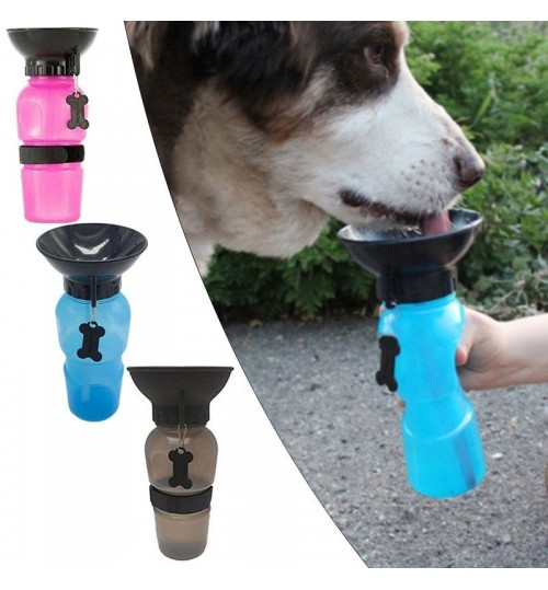 Auto Dog Mug Puppy Water Bottle Portable Travel Walking Hiking
