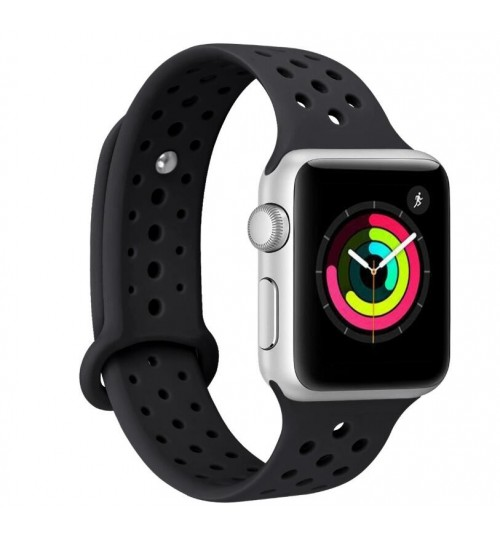 Apple Watch iWatch 3/2/1 38MM Replacement Silicone Sport Band Strap