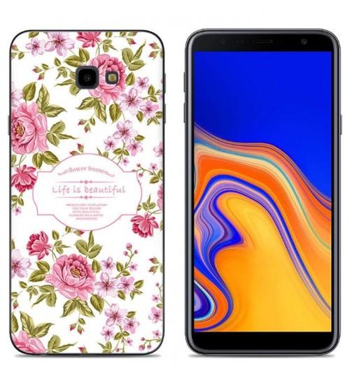 Galaxy J4 Plus Case Printed Soft Gel TPU Case