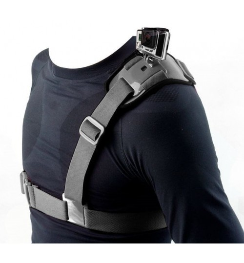 Shoulder Chest Harness Mount compatible with GOPRO