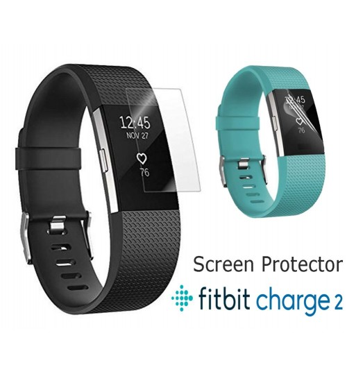 Fitbit Charge 2 Ultra Clear Soft Screen Protector