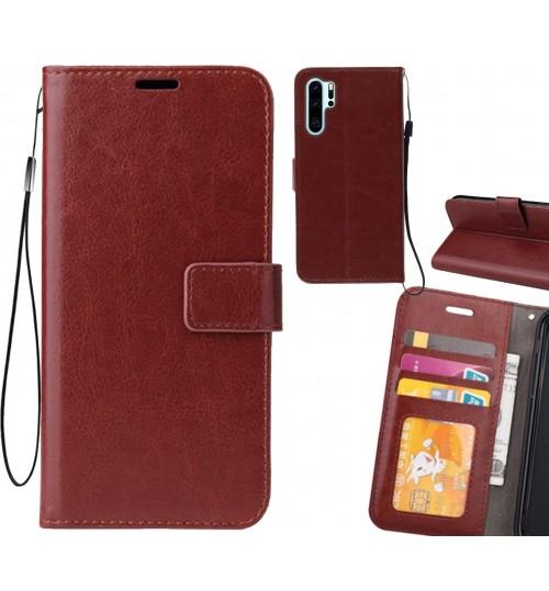 Huawei P30 PRO case Fine leather wallet case