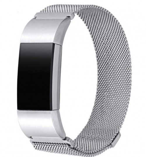 Fitbit Charge 3 Replacement Bands stainless steel-large