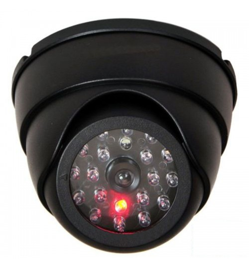 Dummy Dome Security Camera with 30pcs False IR LEDs