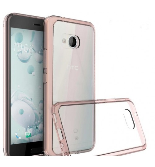HTC U11 case bumper  clear gel back cover