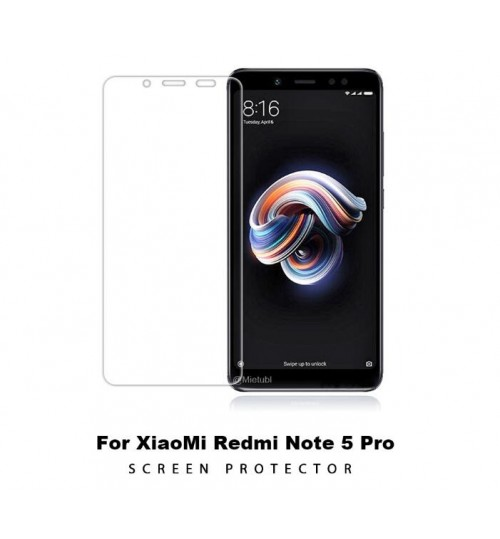 Xiaomi Redmi Note 5 Tempered Glass Screen Protector
