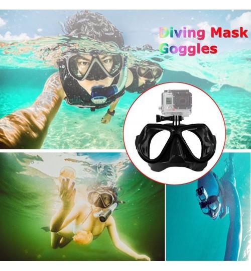 Snorkel Mask, Diving Mask, GoPro Mount