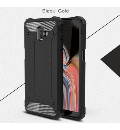 Galaxy J6 Plus Case Armor  Rugged Holster Case