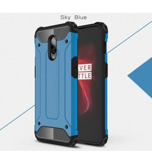 OnePlus 6T Case Armor  Rugged Holster Case