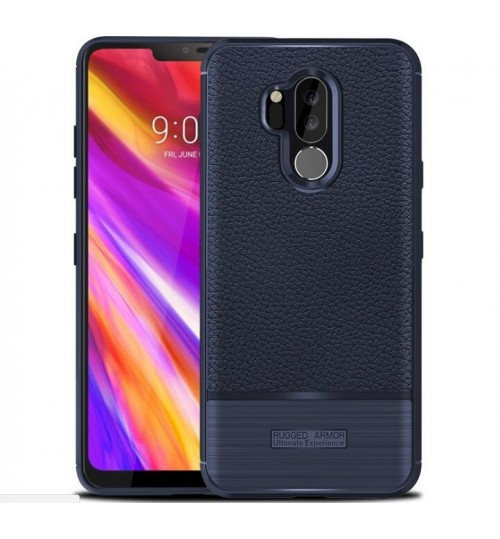 LG G7 Case Armor rugged slim fit TPU Soft Gel Case