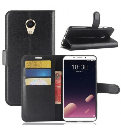Meizu M6s wallet leather case