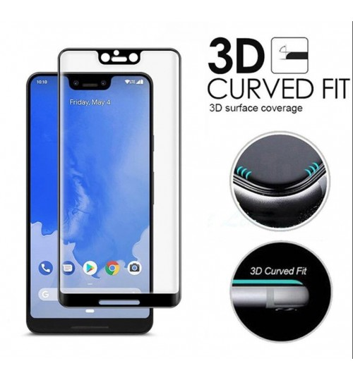 Google Pixel 3 XL Tempered Glass Full Screen Protector