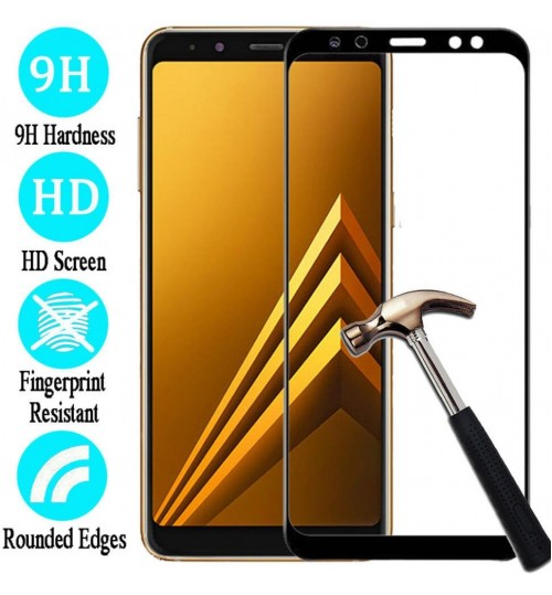 Galaxy A9 2018 Tempered Glass Full Screen Protector