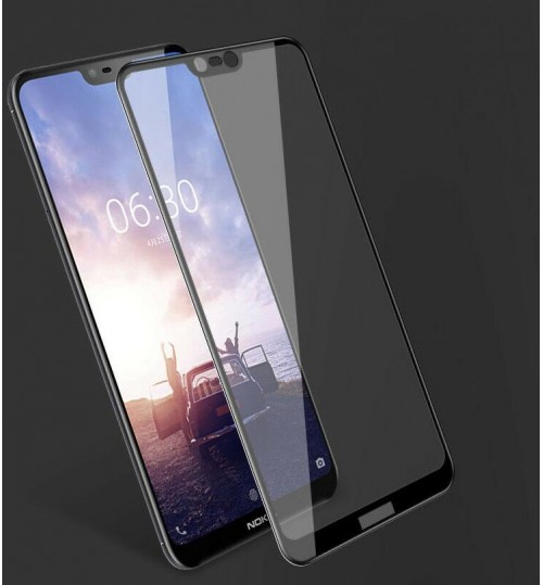 Nokia 7.1 Tempered Glass Full Screen Protector