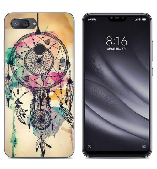 Xiaomi Mi 8 Lite Case Printed Soft Gel TPU Case