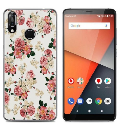 Vodafone Smart X9 Case Printed Soft Gel TPU Case