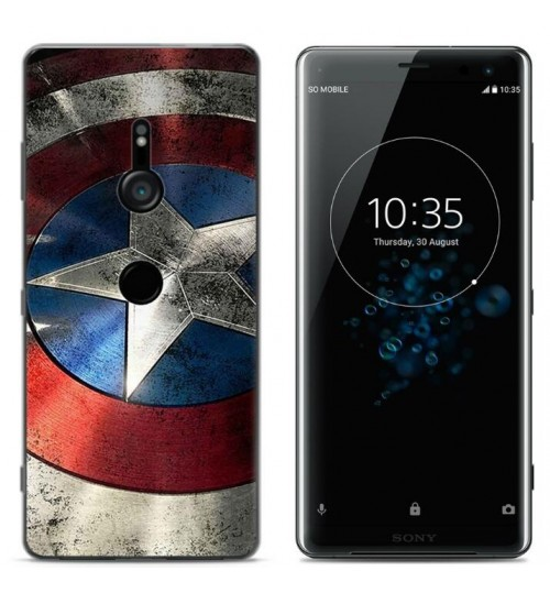 Sony Xperia XZ3 Case Printed Soft Gel TPU Case