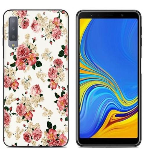 Galaxy A7 (2018) Case Printed Soft Gel TPU Case