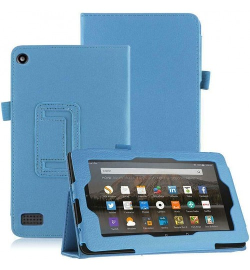 Amazon Kindle Fire 7 2017 Gen  leather flip case