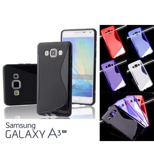 Samsung Galaxy A3 TPU gel cover S line Case