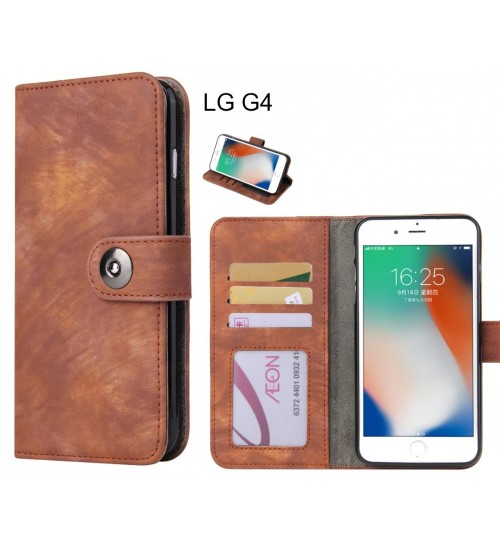 LG G4 case retro leather wallet case