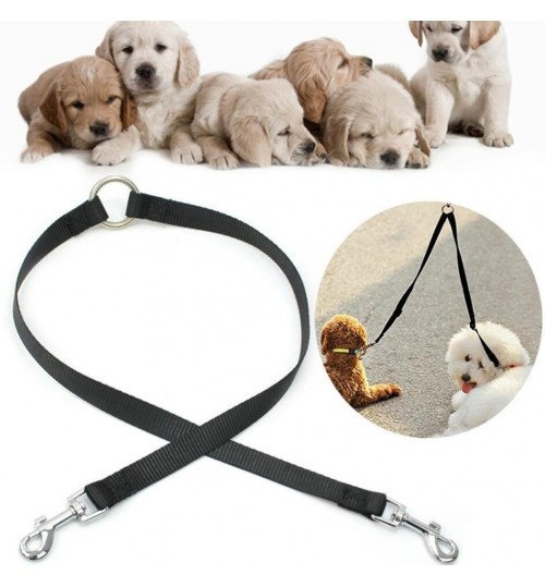 Double Lead Leash for Dogs