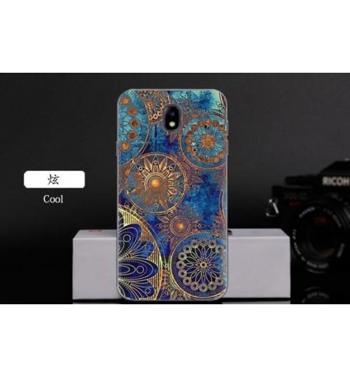 Galaxy J5 PRO 2017 case Ultra Slim Soft Gel TPU printed case soft cover