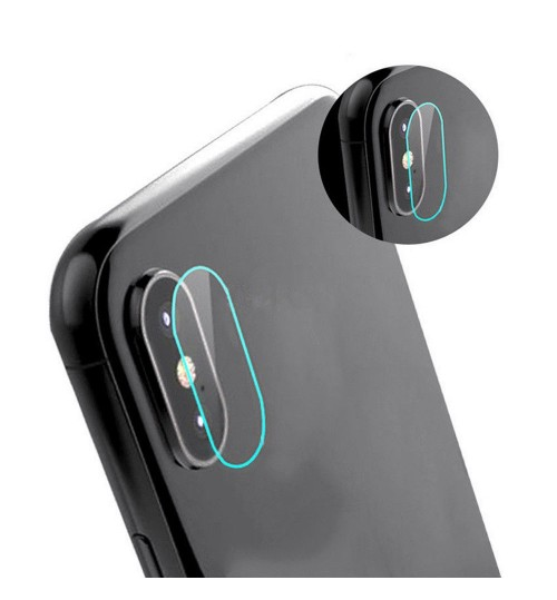 iPhone XS camera lens protector tempered glass 9H hardness HD