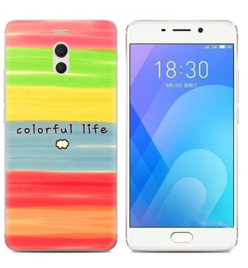Meizu M6 Note  case Ultra Slim Soft Gel TPU printed case soft cover