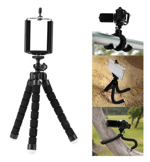 Octopus Stand Tripod suitable for GOPRO Hero4 3 3+ 2 1 Mini Cam Mobile Phone