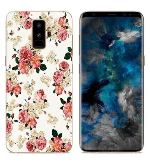 Galaxy S9 case Ultra Slim Soft Gel TPU printed case soft cover
