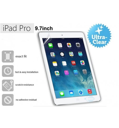 iPad pro 9.7 ultra clear screen protector