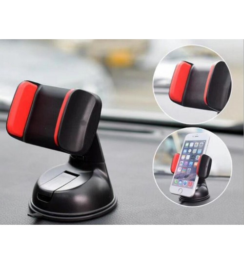 Rotatable Car Phone Holder Silicone Sucker Navigation Dashboard Tablet Stand