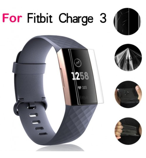 Fitbit Charge 3 Ultra Clear Soft Screen Protector