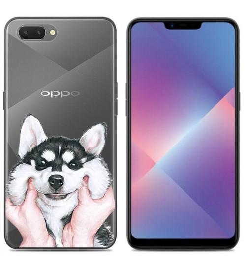 Oppo AX5 Case Printed Soft Gel TPU Case