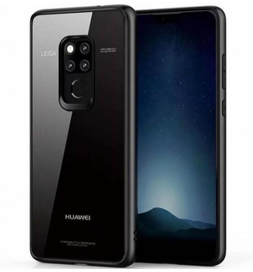 Huawei Mate 20 case bumper clear gel back cover