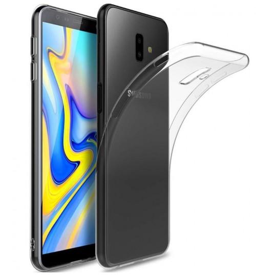 Galaxy J6 Plus case Soft Gel TPU Ultra Thin Clear