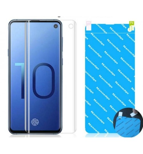 Galaxy S10 Screen Protector anti shock FULL COVER Soft Film