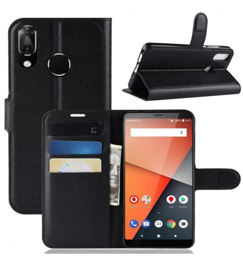 Vodafone Smart X9 wallet leather case