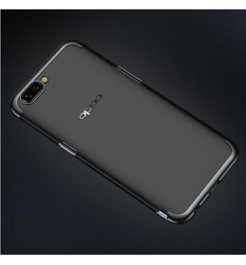 Oppo R11 case bumper clear gel back cover