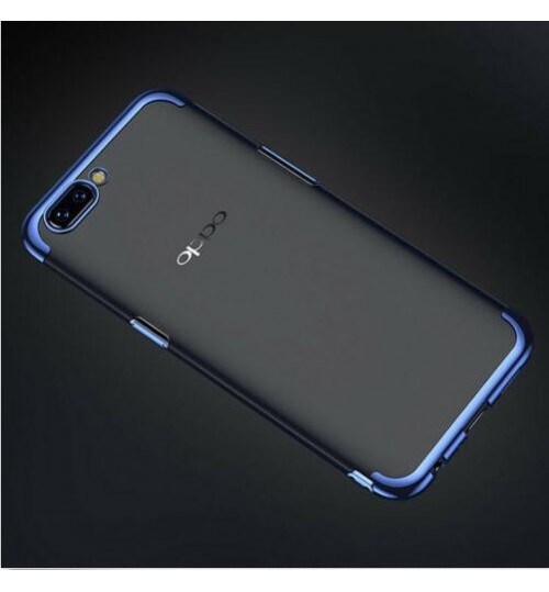 Oppo R11 PLUS case bumper clear gel back cover