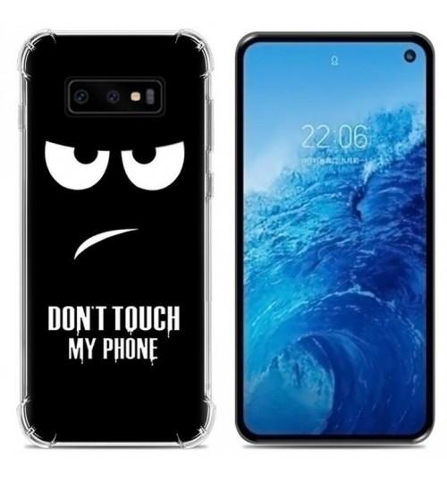 Galaxy S10 Case Printed Soft Gel TPU Case