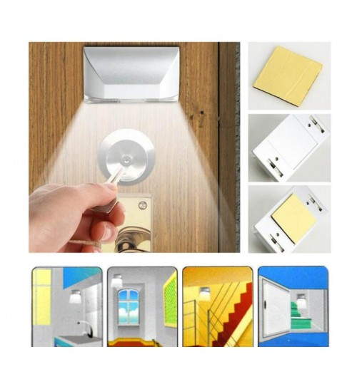 Auto PIR Sensor Infrared IR Wireless Motion Detector Door Keyhole LED  Lamp