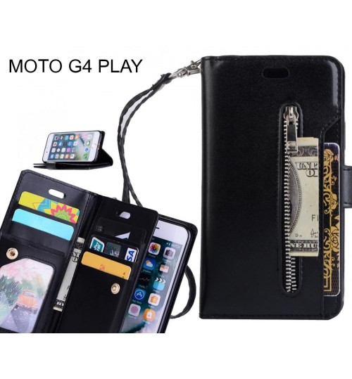 MOTO G4 PLAY case multi functional wallet case