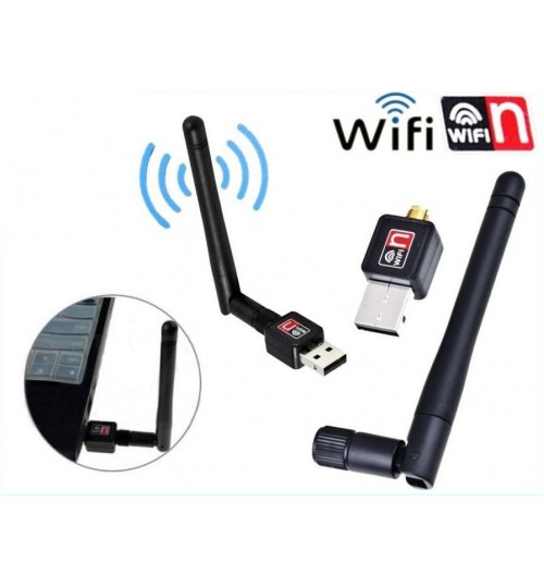USB WiFi Wireless Network Adapter 150M + Antenna