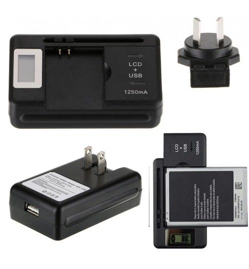Universal Charger for Mobile Phone &Camera Battery
