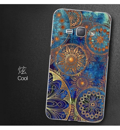 Galaxy J1 2016 case Ultra Slim Soft Gel TPU printed case
