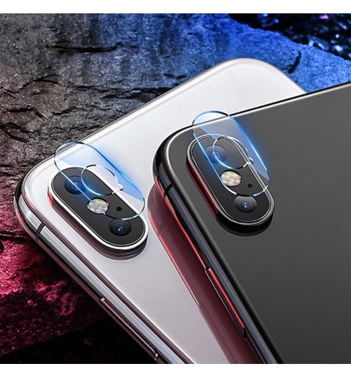 iPhone XS MAX camera lens protector tempered glass 9H hardness HD