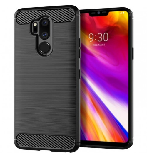 LG G7 Case Carbon Fibre Shockproof Armour Case